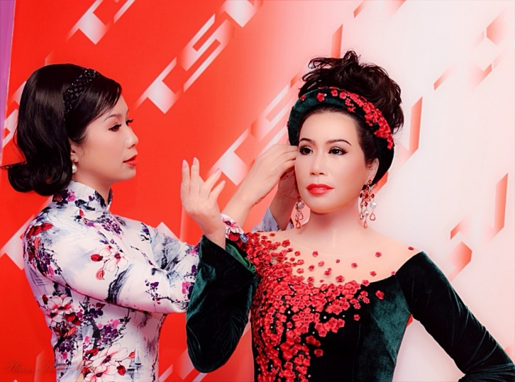 trinh kim chi a hau dau tien duoc lam tuong sap