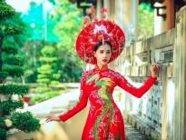 Người đẹp Quỳnh Như rạng ngời với thiết kế của Tommy Nguyễn