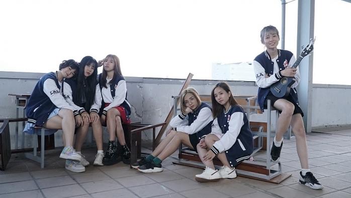 o2o girl band gay to mo trong lan dau tien dong phim