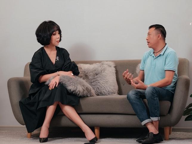 trac thuy mieu dong hanh cung talkshow du an vi cong dong nguoi song voi hiv