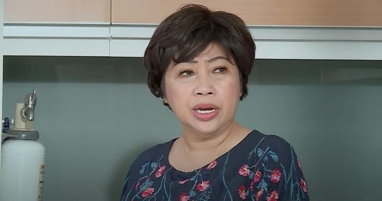 ngoc lan suyt hai phi phung vi cho chi gai uong thuoc cua thay lang bam