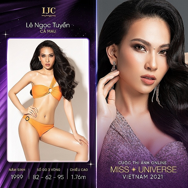 Giải vàng siêu mẫu, Top 10 'Hoa hậu hoàn vũ Việt Nam 2019' tái xuất tại 'Cuộc thi ảnh online Hoa hậu hoàn vũ Việt Nam 2021'
