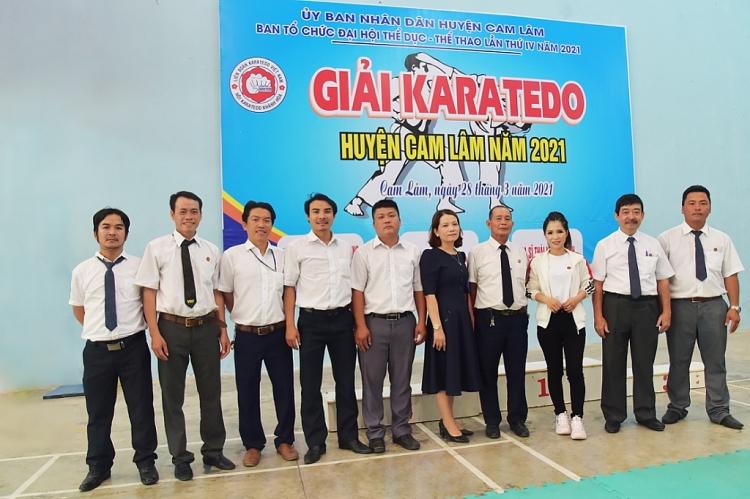Thái Ngọc Thanh làm khách mời giải Karatedo tại Nha Trang