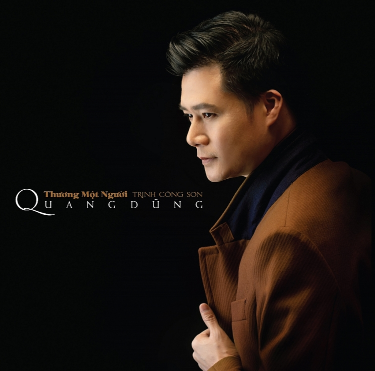 Quang Dũng kết hợp vừa ra album đĩa than nhạc Trịnh 'Thương một người', vừa trình làng MV lyrics 'Ru tình'