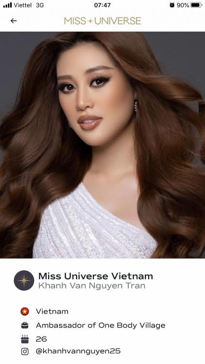 Hoa hậu Khánh Vân và dự án OBV của cô xuất hiện trên trang chủ 'Miss Universe'