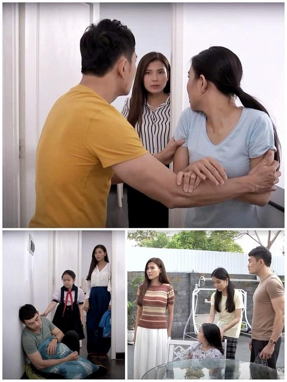 Lương Thế Thành phản ứng ra sao khi Thúy Diễm quá tình cảm bên Trương Minh Quốc Thái trong phim mới?