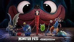 'Monster Pets': Khi Dracula bị hành hạ 'lên bờ xuống ruộng' bởi chú chó Tinkles quái vật