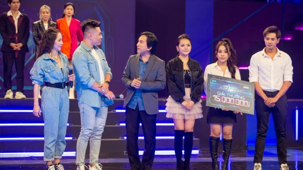 'Đấu trường âm nhạc': Khải Đăng mang chiến thắng chung cuộc cho đội Kim Tử Long