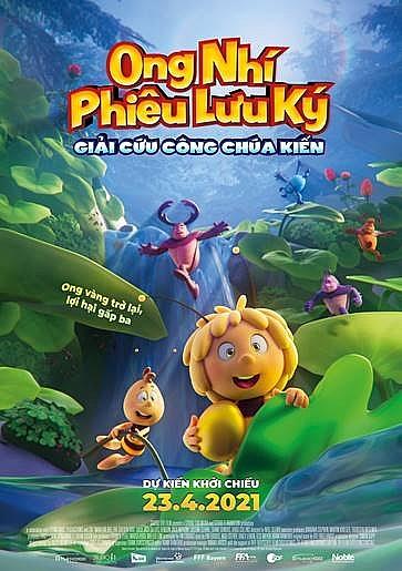 'Ong nhí phiêu lưu ký: Giải cứu công chúa Kiến': Bộ phim hoạt hình triển vọng bứt phá tại phòng vé Việt.