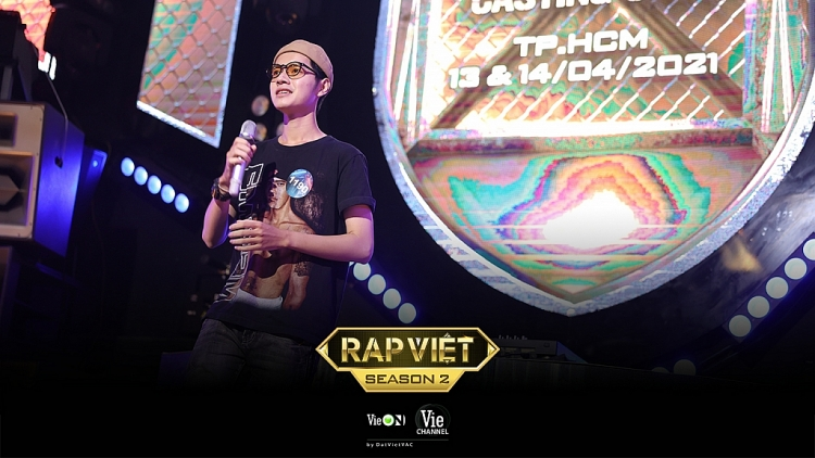 Quán quân Cao Bá Hưng và người mẫu, diễn viên Mai Ngô 'đốt cháy' sân khấu casting 'Rap Việt' mùa 2