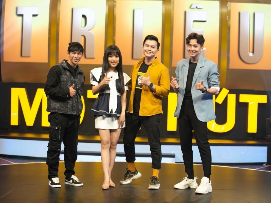 '100 triệu 1 phút': Ngô Kiến Huy, Nam Cường lần đầu nhảy rap tự do