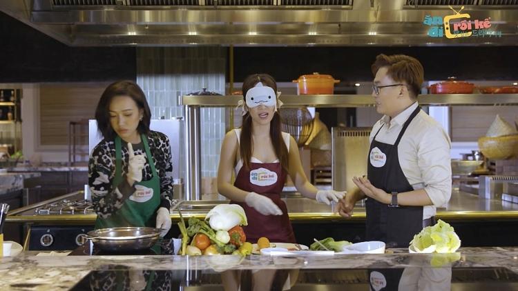 'Ăn đi rồi kể': Diệu Nhi - Puka 'song kiếm hợp bích' quyết tâm 'bóc trần' hình tượng của Trịnh Thăng Bình