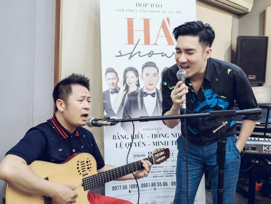 Bằng Kiều: Quang Hà là người em tôi kính trọng và nể phục!