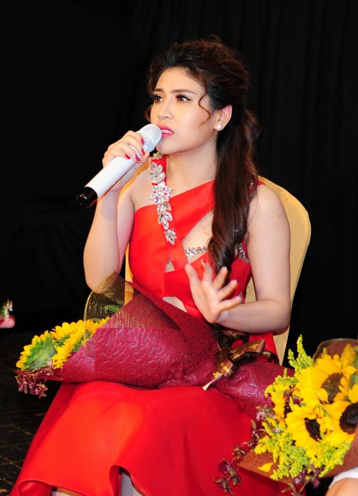 Ca sĩ Kỳ Phương bất ngờ tham gia chương trình
