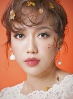 """Diệu Nhi từ """"tưng tửng"""" hóa trong veo nhờ lối trang điểm hồng đào Hàn Quốc"""