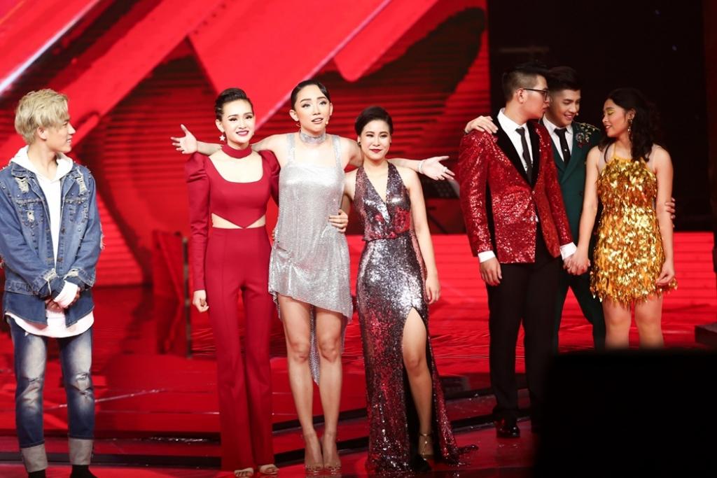 lo dien top 4 dan thi sinh trong mo buoc vao chung ket giong hat viet 2017