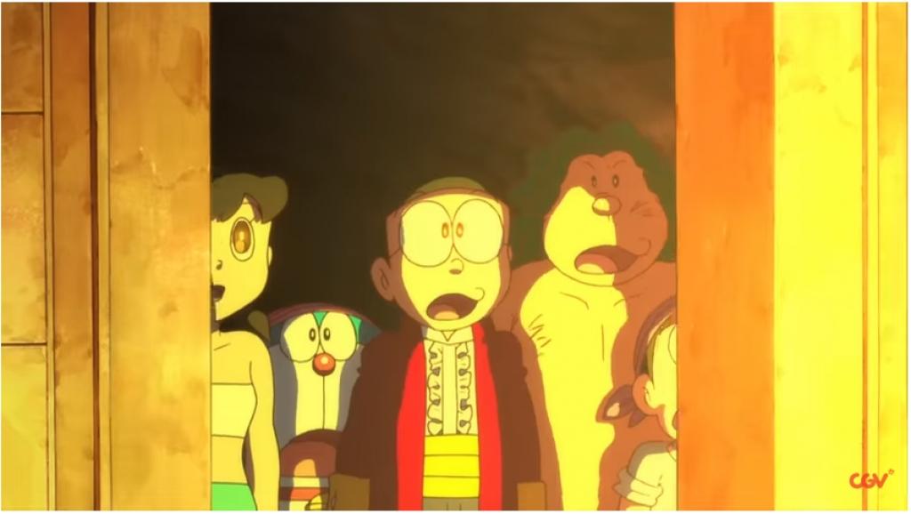 doraemon nobita va dao giau vang mon qua y nghia dip mung 16