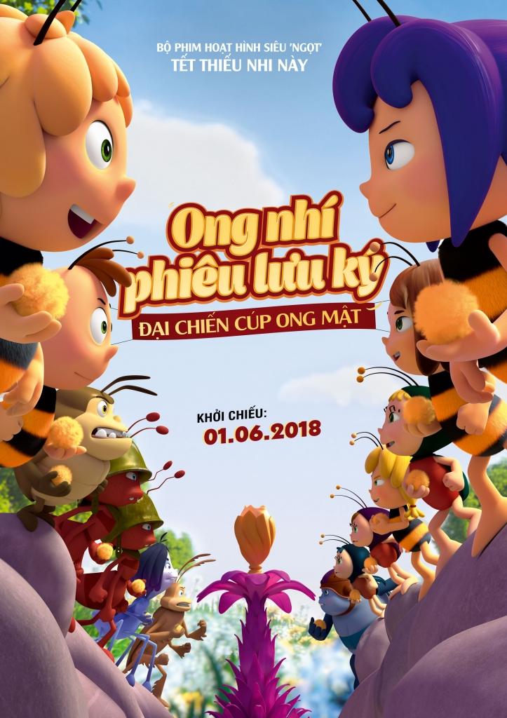 ong nhi phieu luu ky dai chien cup ong mat phien ban con trung cuc de thuong