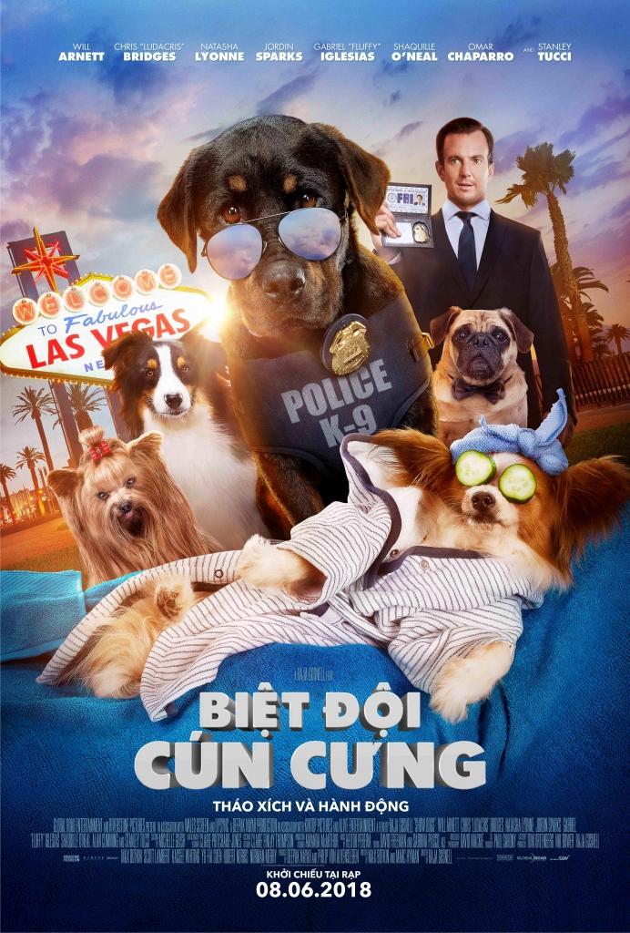 show dogs biet doi cun cung cuoi vo bung voi trailer moi cua cac chu cun cung
