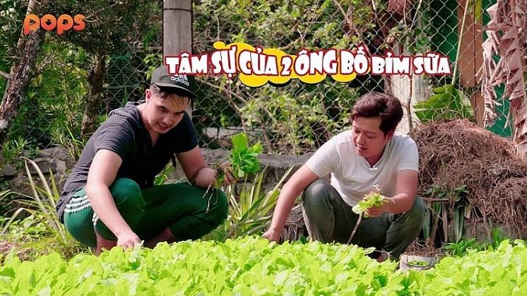 truong giang va baggio ke chuyen nuoi con trong muon an phai lan vao bep