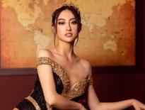 Hoa hậu Lương Thùy Linh quyến rũ đến xiêu lòng