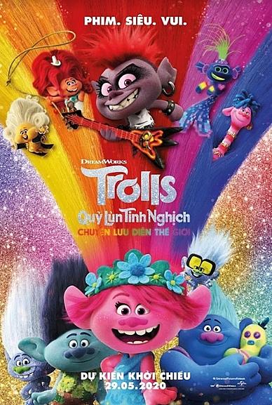 trolls world tour phep mau moi cua xuong phim hoat hinh giac mo dreamworks