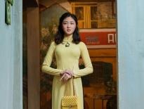 Đại sứ áo dài Vũ Trần Bảo Nguyên hoá thiên kim tiểu thư lá ngọc cành vàng
