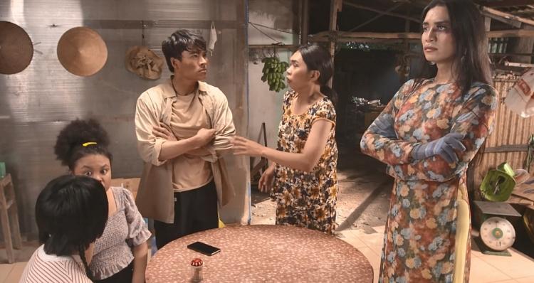 Chết cười khi Võ Tấn Phát làm chồng của 'thánh chửi' Minh Dự, màn đối đáp đúng chất 'bi thương' và hài hước