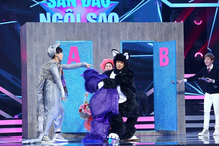 'Sàn đấu ngôi sao' tập 19: Đình Toàn, Bình Tinh 'nổi da gà' với nhan sắc thật của 'công chúa' Nguyên Vũ