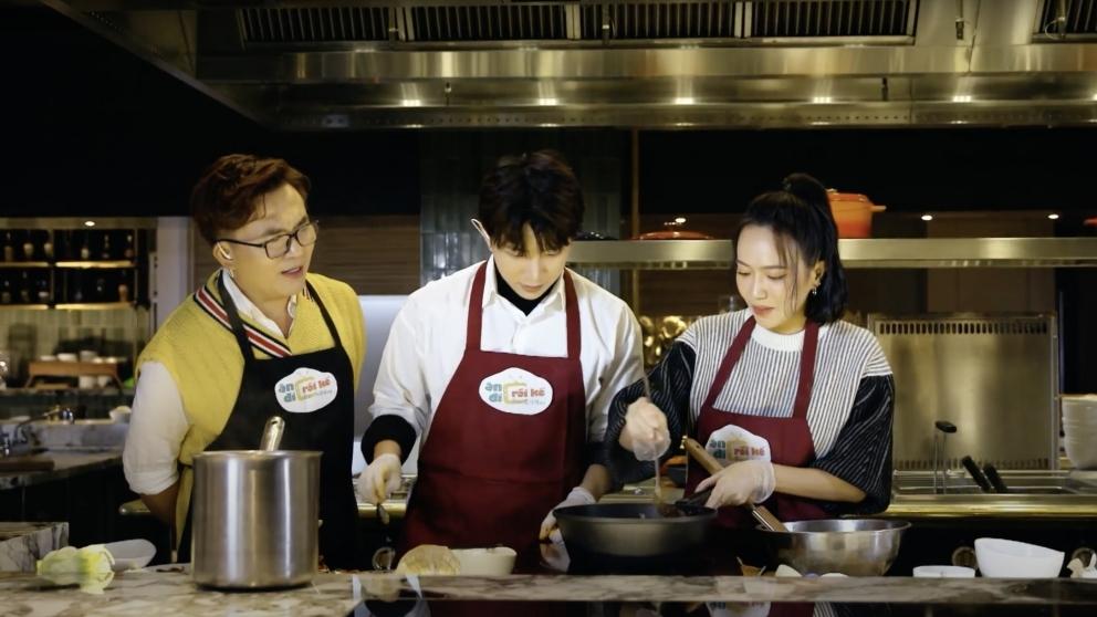 'Ăn đi rồi kể': Tùng Maru - Diệu Nhi quyết chiến với Han Sara và Trịnh Thăng Bình