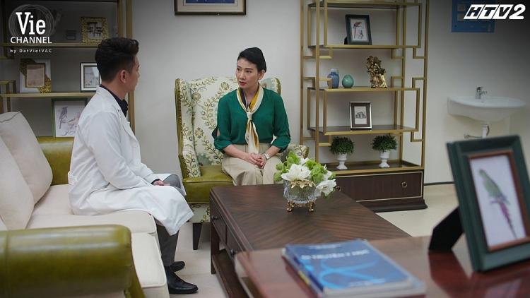 'Cây táo nở hoa 'tập 16: Tuấn chấp nhận quay về với vợ, từ chức trưởng khoa để Châu được giữ lại bệnh viện,