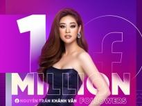 Mừng fanpage 1 triệu theo dõi, Hoa hậu Khánh Vân tiết lộ bộ ảnh dạ hội trước thềm bán kết 'Miss Universe'