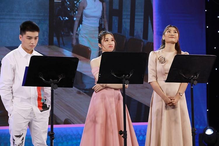 Tài tử Lý Hùng, diễn viên Thanh Thúy, Hứa Vĩ Văn cùng xuất hiện trên sân khấu 'Thanh âm quyền năng'