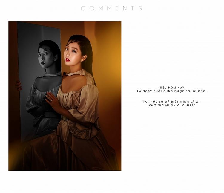 Liêu Hà Trinh đầy ma mị trong bộ ảnh 'Comments' mang thông điệp ẩn ý nhân văn