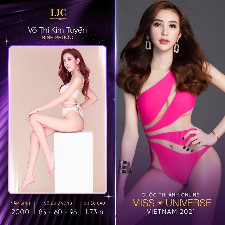 Nhan sắc dàn thí sinh 'Cuộc thi ảnh online Hoa hậu hoàn vũ Việt Nam 2021', ai cũng sở hữu chiều cao khủng và body nóng bỏng