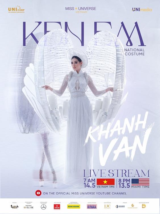 Bình chọn 'Kén Em' cùng Hoa hậu Khánh Vân giành giải Best National Costume