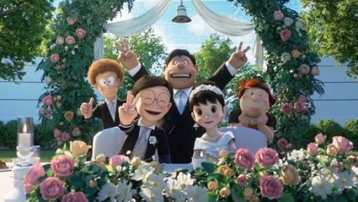 'Doraemon: Stand by me 2': Nobita chạy trốn trước 'đám cưới thế kỷ' và hành trình trưởng thành đầy cảm động của cậu bé hậu đậu