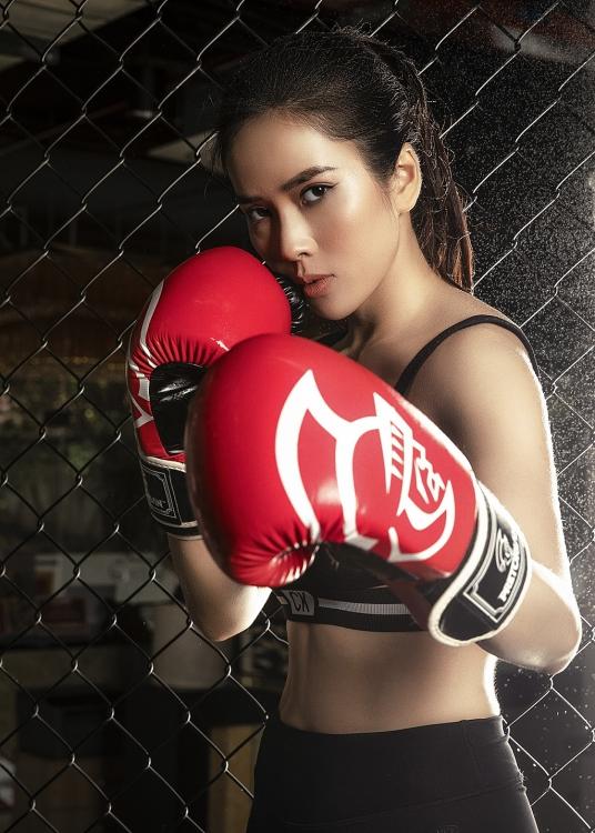 Bella Mai trở lại với boxing chuẩn bị cho dự án hành động đặc biệt