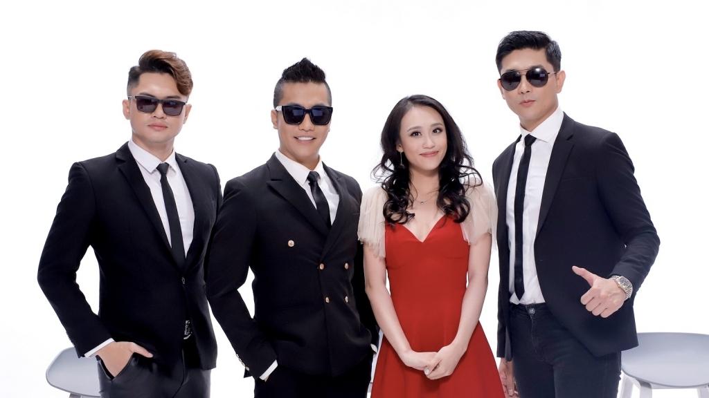 Bị hủy show hàng loạt, Hoàng Rapper hợp tác cùng Tim, Bảo Kun và Kim Anh và ekip làm MV 'Đang yên đang lành'