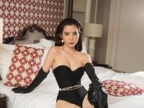 Hoa hậu Huỳnh Vy 'gây sốt' với vòng eo 55cm