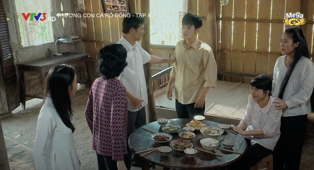 NSƯT Hạnh Thúy và Lê Phương 'đấu khẩu' dữ dội trong phim 'Thương con cá rô đồng'