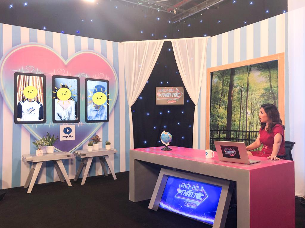 NSƯT Cát Tường mai mối xuyên quốc gia trong mùa dịch với 'Ghép đôi thần tốc online'