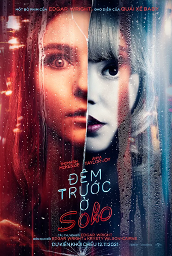 'Đêm trước ở Soho': Phim mới của 'nữ hoàng Gambit' Anya Taylor-Joy tung trailer u ám đến sởn gai ốc