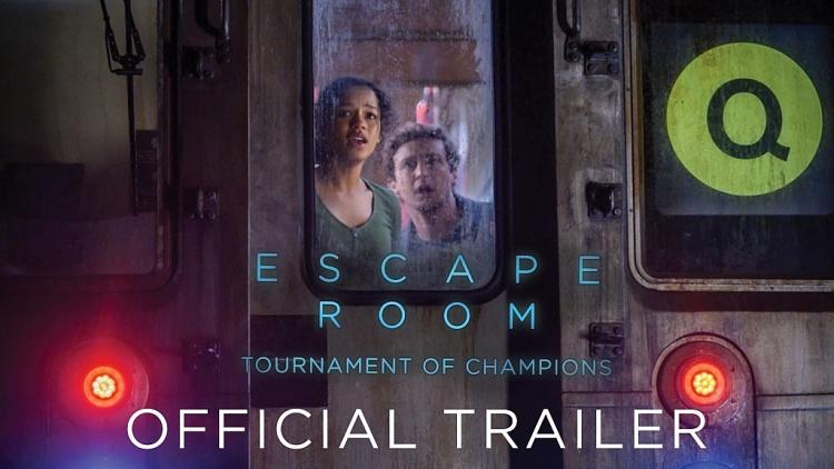 'Escape room 2' tung trailer với 'cú lừa' cực gắt, đưa khán giả trở lại trò chơi sinh tử khốc liệt