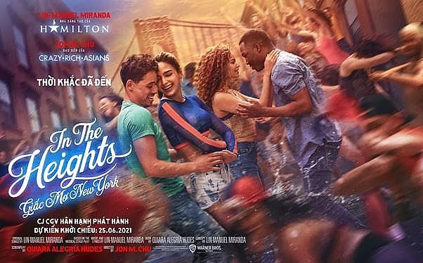 'In the heights': Chưa ra rạp, phim âm nhạc 'cháy' nhất hè này nhận mưa lời khen từ giới phê bình
