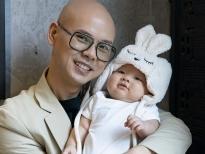 Khoe ảnh nhóc tì 4 tháng tuổi, Phan Đinh Tùng còn tiết lộ một điều về vợ