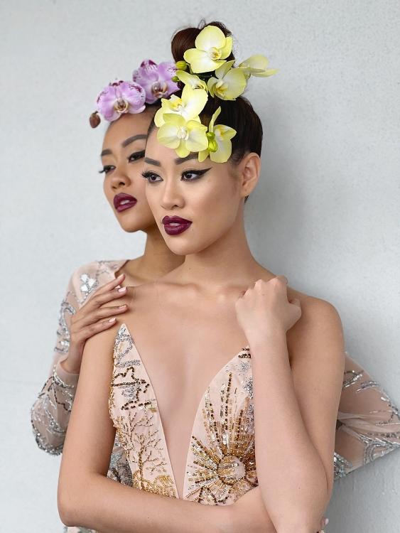 Hoa hậu Khánh Vân và bạn cùng phòng