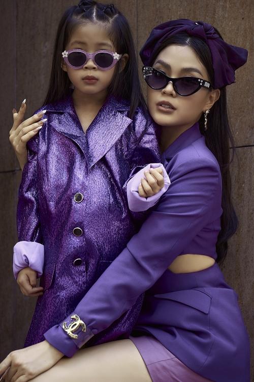 Khoe bộ ảnh mới cùng con gái, fan trầm trồ trước nhan sắc của 'hotmom' Diễm Trang