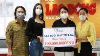 Dàn Hoa hậu tặng 100 triệu cho dự án 'Triệu liều vaccine cho công nhân nghèo'