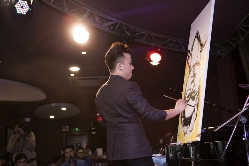 phu thuy ve tranh pham hong minh mat an mat ngu vi the art painting show